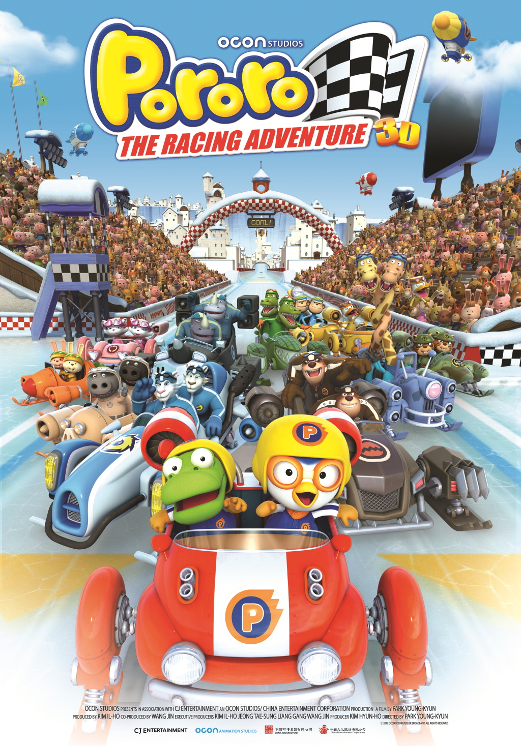 PORORO THE RACING ADVENTURE: Kartun Korea Yang Cukup